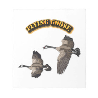Flying Goose Notepad