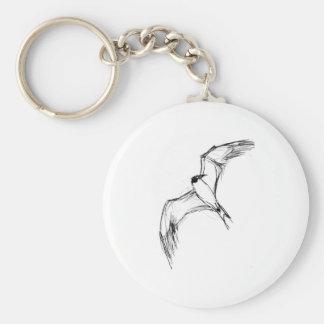 Flying Grebe Keychain