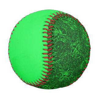 Flying Green Girly Baseball