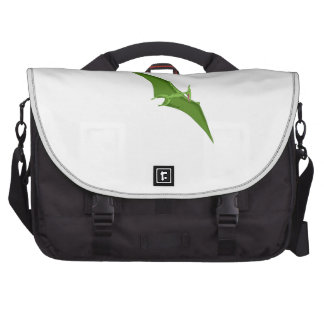 Flying Green Pterodactyl Commuter Bags