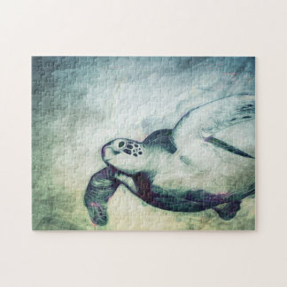 Flying Green Sea Turtle   Puzzle