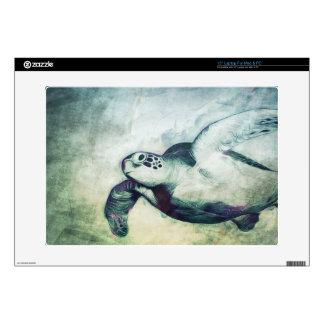 Flying Green Sea Turtles | Custom Laptop Skin
