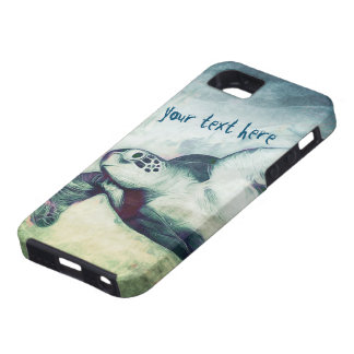 Flying Green Sea Turtles | iPhone 5/5S Cases