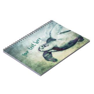 Flying Green Sea Turtles   Notebook
