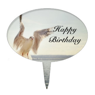 Flying Gull Cake Topper