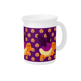 Flying Halloween Turtle Drink Pitcher