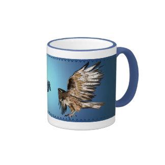 Flying Hawk Mug