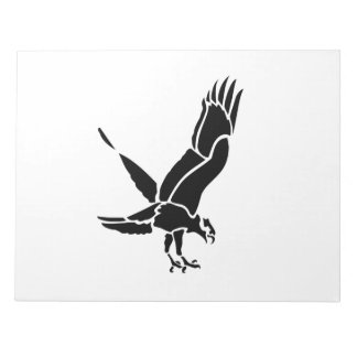 Flying Hawk Notepad