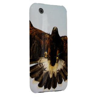 Flying Hawk Photo Sketch iPhone 3G/3Gs Case