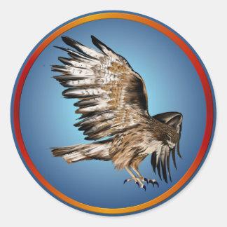 Flying Hawk Sticker