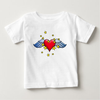 Flying Heart Baby T-Shirt