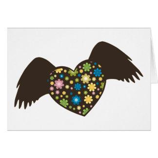 Flying Heart Card