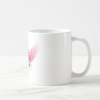 flying heart coffee mug