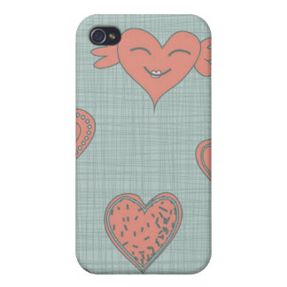 flying heart iphone 4 case