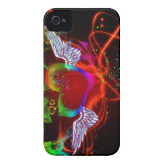 flying heart iPhone 4 cover