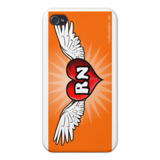 Flying Heart RN iPhone 4/4S Cases