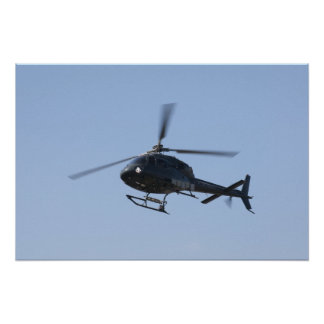 Flying helicopter posters