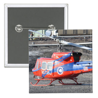 Flying Helicopters Pinback Buttons