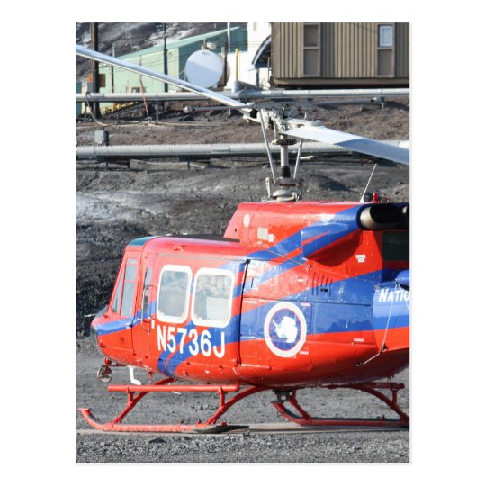 Flying Helicopters Postcard