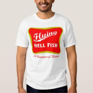 Flying Hellfish Champagne Shirt
