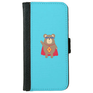Flying Hero Bear Q1Q iPhone 6/6s Wallet Case