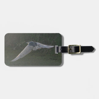 Flying Heron Bag Tag