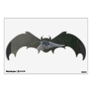 Flying Heron Bat Wall Decal