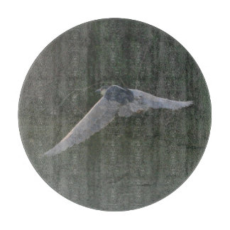 Flying Heron Cutting Board