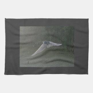 Flying Heron Kitchen Towel