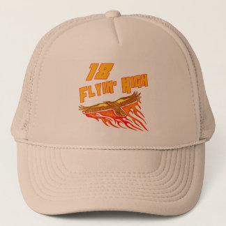 Flying High 18th Birthday Gifts Trucker Hat