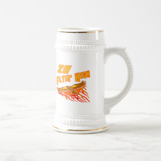 Flying High 20th Birthday Gifts Beer Stein