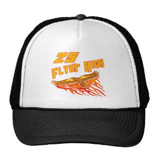 Flying High 25th Birthday Gifts Trucker Hat
