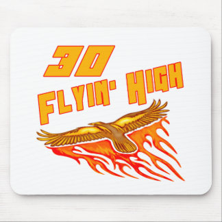 Flying High 30th Birthday Gifts Mouse Pad