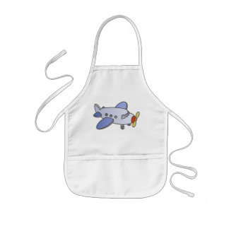 Flying High Airplane Kids' Apron