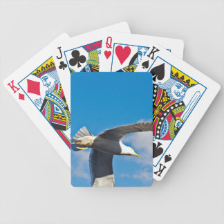 Flying high bicycle playing cards