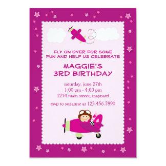 Flying High Birthday Invitation