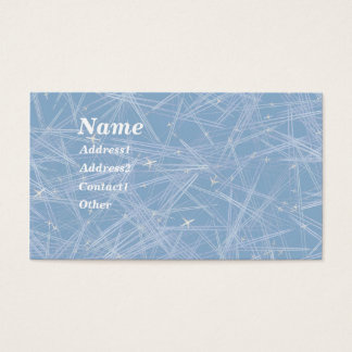 FLYING HIGH! by SHARON SHARPE Business Card