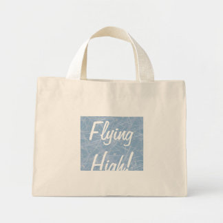 FLYING HIGH! by SHARON SHARPE Mini Tote Bag