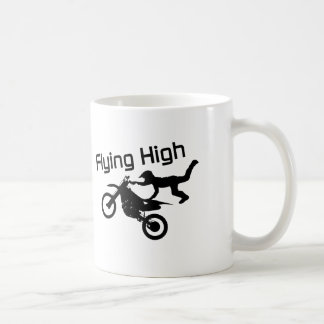 Flying High Dirt Bike Stunt Coffee Mug