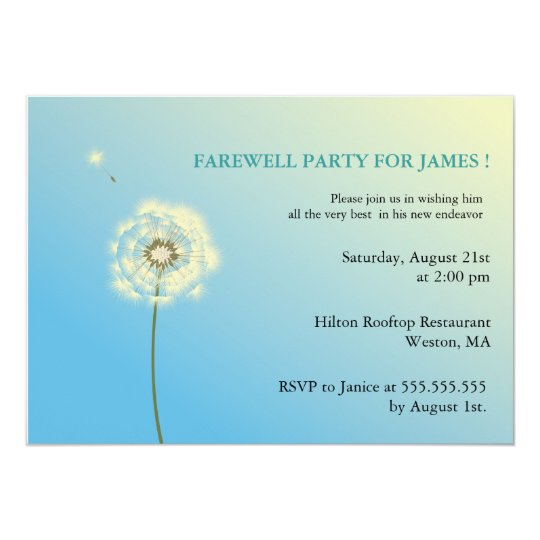 farewell invites for colleagues