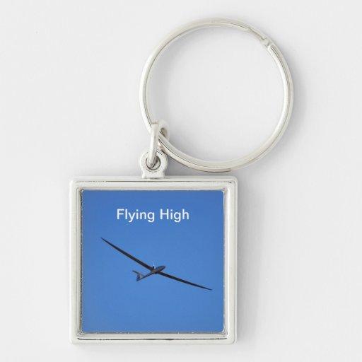 Flying High Keychain
