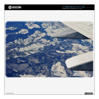 flying high Macbook air sleeve MacBook Decals