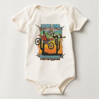 Flying High Motocross Baby Bodysuit