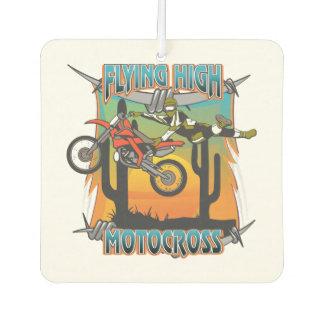 Flying High Motocross Car Air Freshener