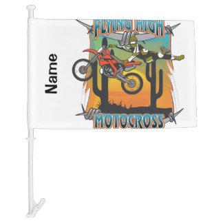 Flying High Motocross Car Flag