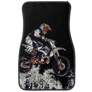 """""""Flying High"""" Motocross Rider Car Mat"""