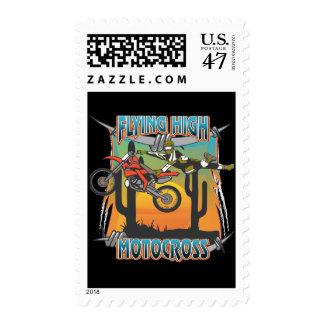 Flying High Motocross Stamp