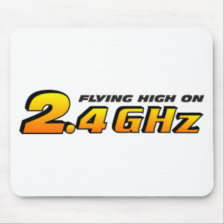 Flying High On 2.4 GHz Mouse Pad