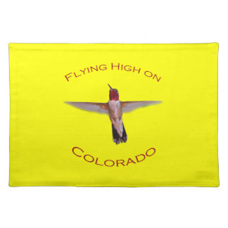 Flying High On Colorado Cloth Placemat