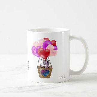 Flying_High_On_Your_Love Classic White Coffee Mug